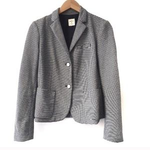 GAP academy blazer striped blue and while 4